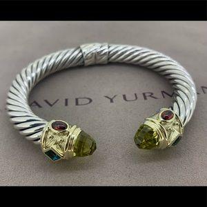 David Yurman Renaissance Bracelet 14k & 🍋 Citrine